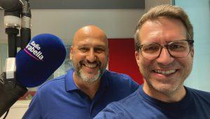 Matthias Benninger und Uli Florl Foto: Radio Arabella